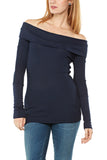 Bobi Off Shoulder Thermal in Harbor
