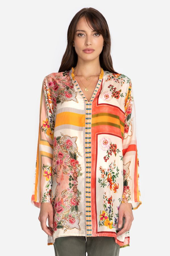 Johnny Was Collection Rosemarie Tunic