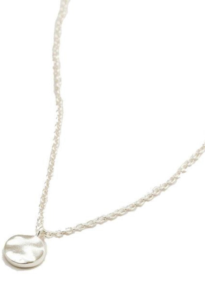Gorjana Chloe Charm Adjustable Necklace in Silver