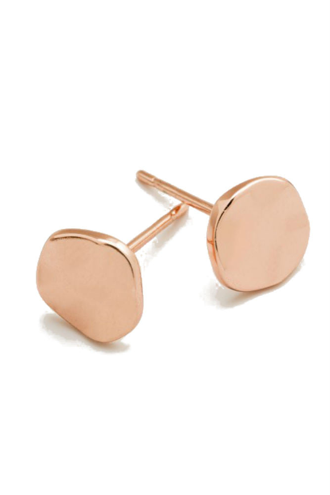 Gorjana Chloe Stud Small Earring Rose GOld