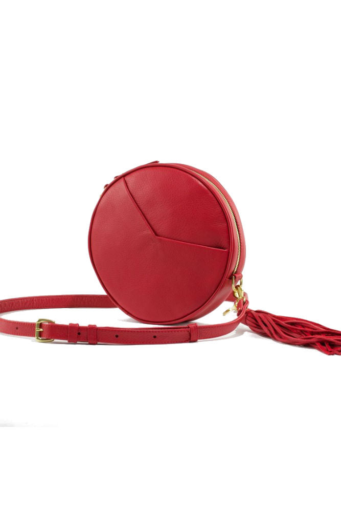 TAH Circle Bag Red