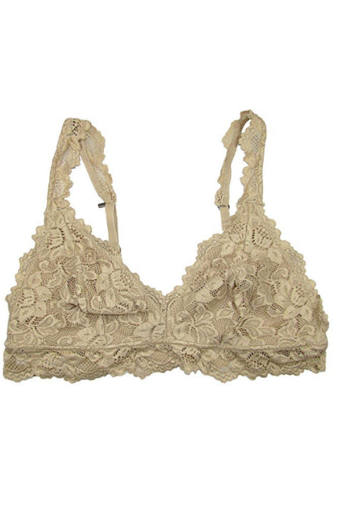Undie Couture Classic Lace Bralette in Nude