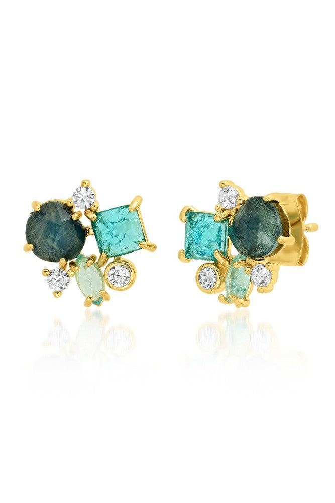 TAI Cluster Stud Earrings