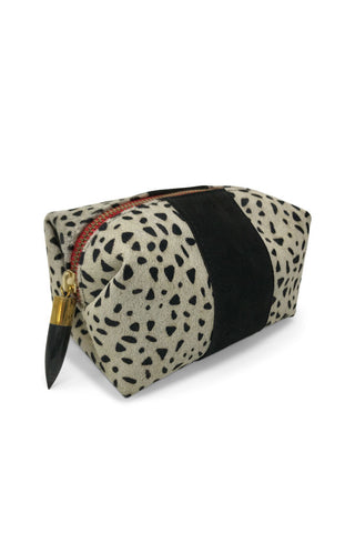 Kempton & Co Black/Gold Clutch