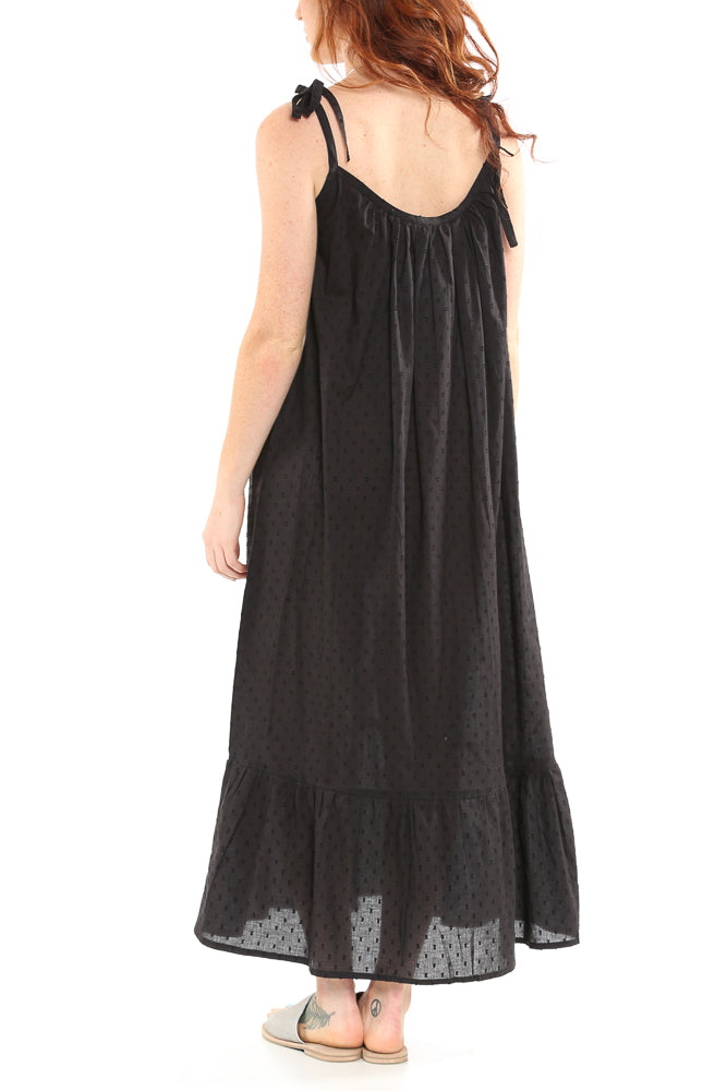 cc4f85d05d146 Curation by EMERSON FRY India Sundress in Black Dots