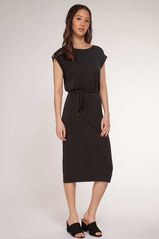 HOLIDAY V-Neck Sleeveless Dress