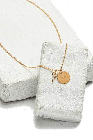 Betsy & Iya Ayni Necklace Bronze/Sterling Silver