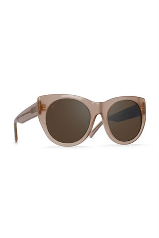 Raen Remmy Polarized in Matte Brindle Tortoise/Smoke