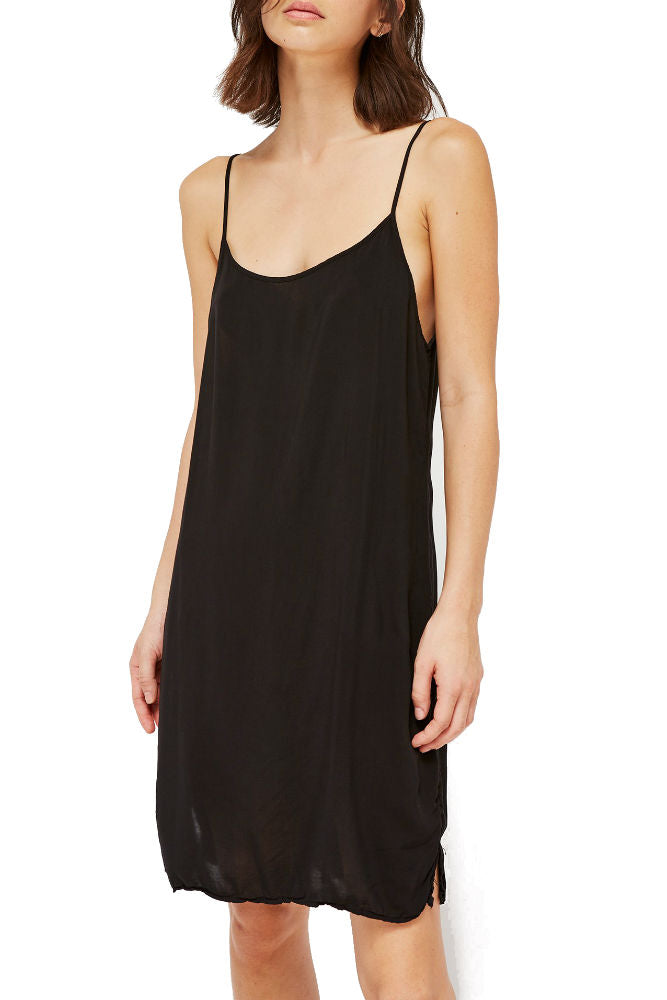 898b8cba6a5e LACAUSA Easy Slip Dress in Tar – Adorn
