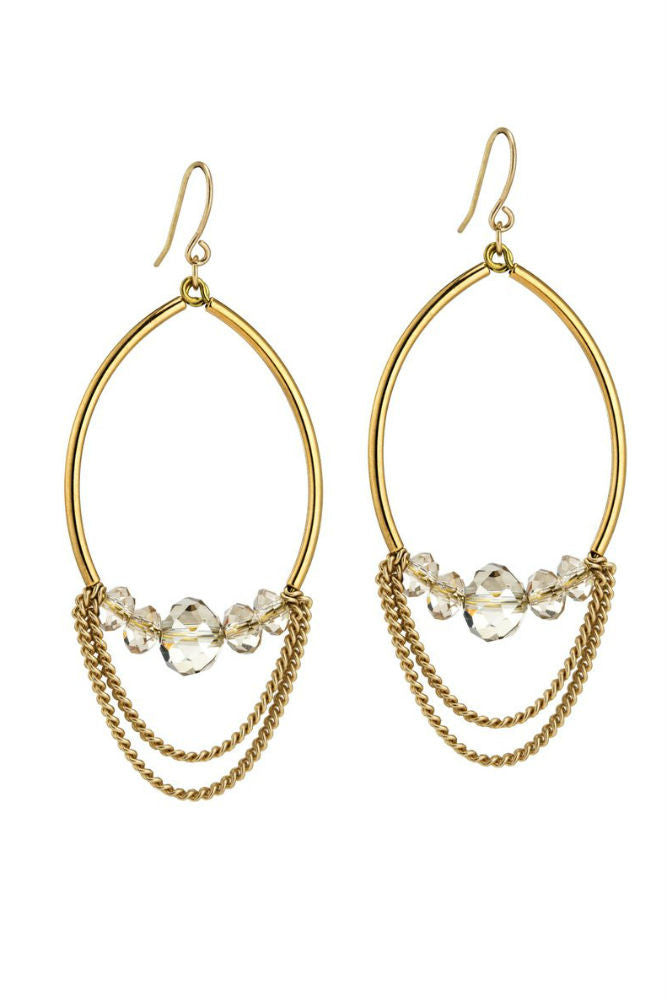 Grayling Edessa Earrings Gold