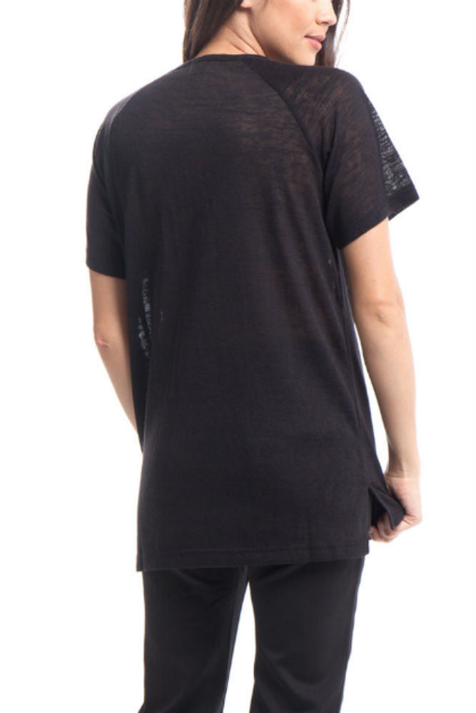 Publish Etta Knit Shirt Black