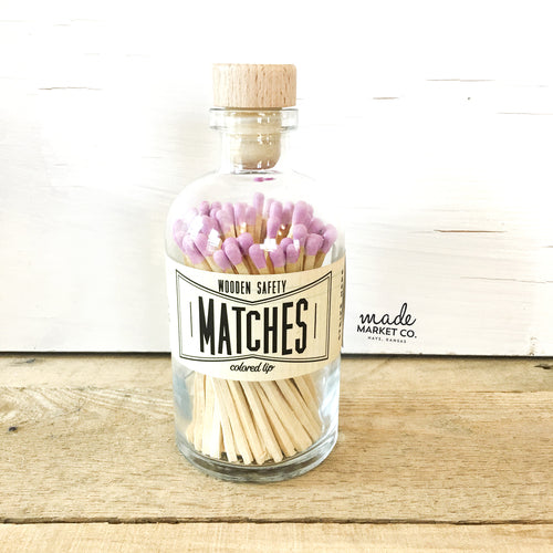 Made Market Co. - Lavender Vintage Apothecary Matches