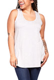 Fifteen Twenty Racerback Tank in Light Heather Grey