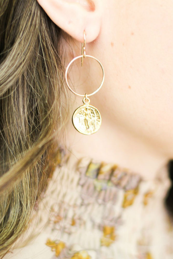 Joy Dravecky Fortune Earrings