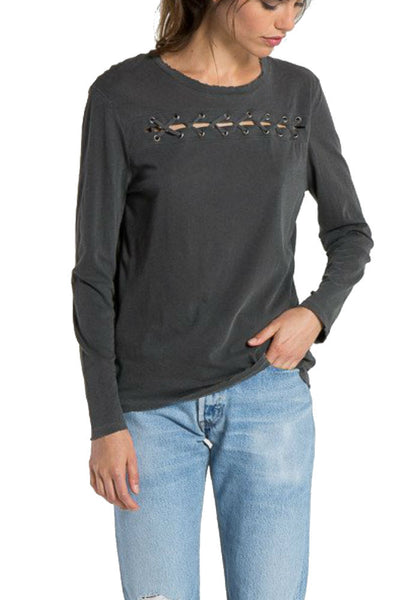 n:Philanthropy Gigi Long Sleeve with Lacing Details