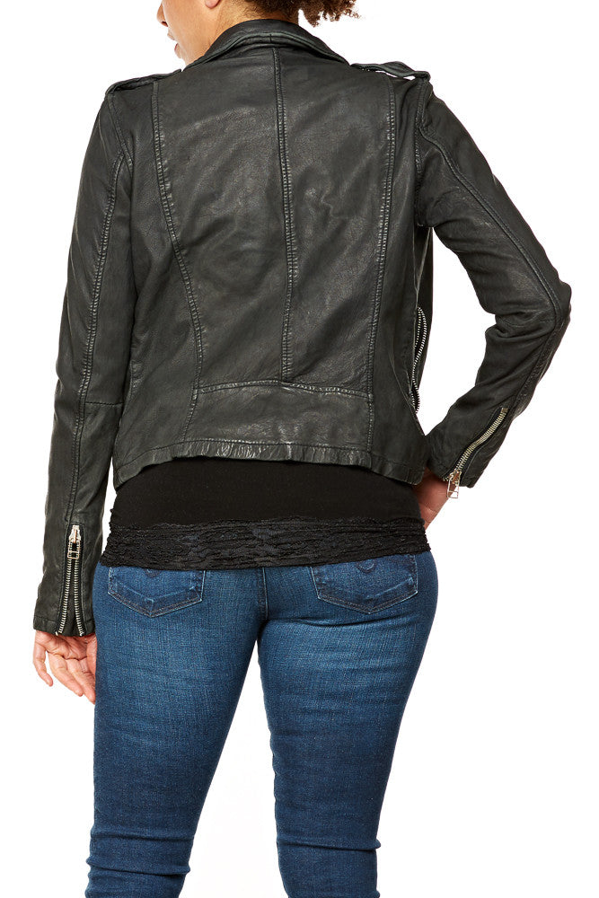 Goosecraft Biker 513 Leather Jacket