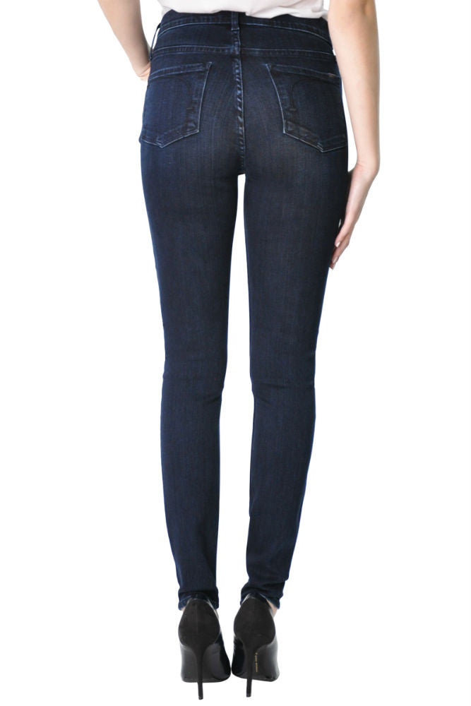 Fidelity Gwen High Rise Super Skinny in Maldive Blue