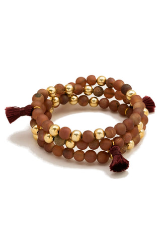 Gorjana Intention Bracelet in Attitude of Gratitude