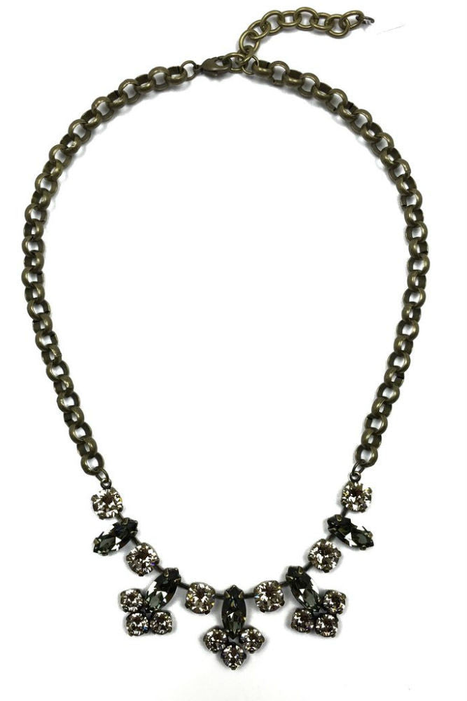 Grayling Hanover Statement Necklace Brass