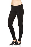 Hard Tail Kick Out Ankle Leggings in Black