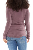 Hard Tail Long Skinny Tee in Nightshade