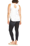 Hard Tail Melissa Tank in White