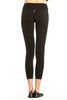 Hard Tail Flat Waist Capri Leggings