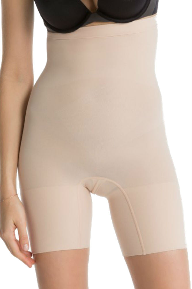 SPANX Higher Power Short in Soft Nude