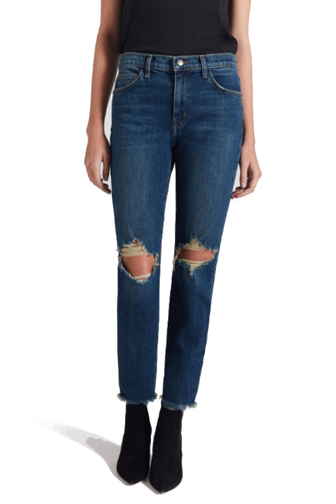 CURRENT/ELLIOTT The High Waist Stiletto Jean in Brush
