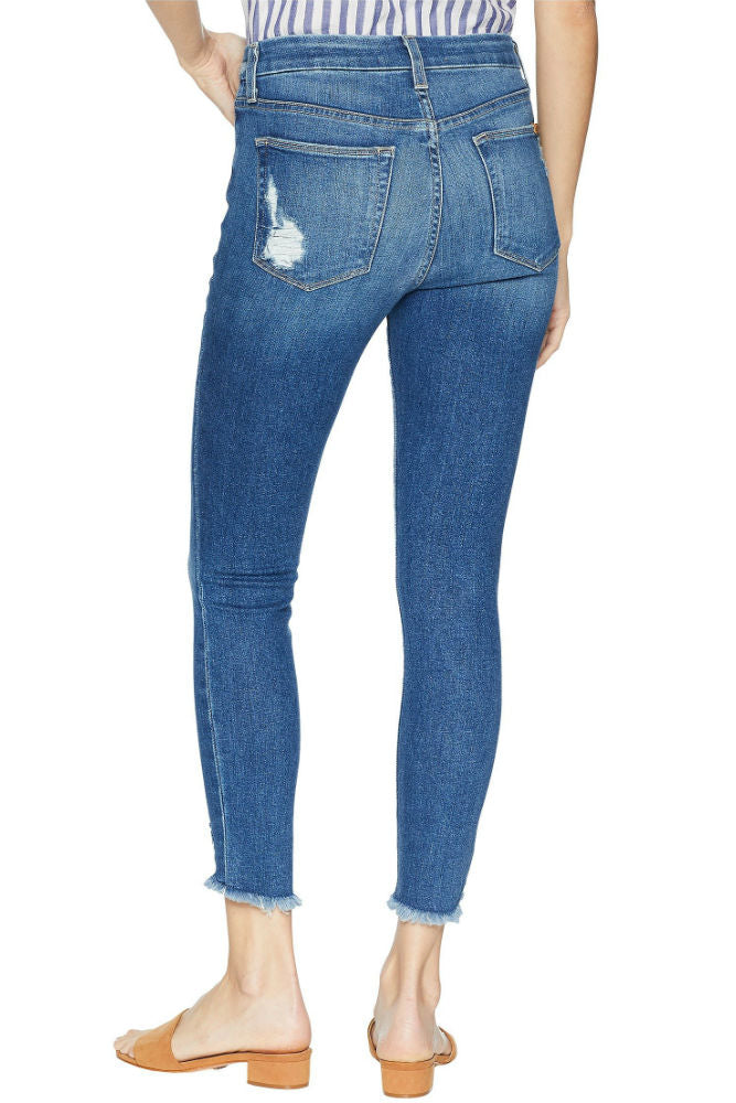 JOE'S JEANS The High Rise Honey Skinny Crop in Quinley