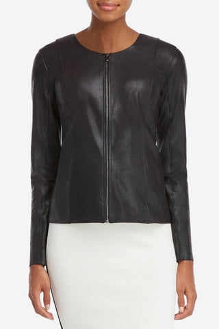 MUUBAA Indus Biker Leather Jacket