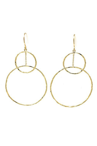 Gorjana Taner Mini Hoops in Silver