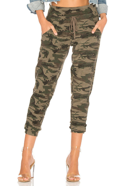 Bobi Jogger Sweatpants in Army