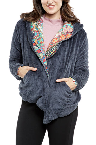 Bobeau Pullover Sweater with Cardigan FINAL SALE