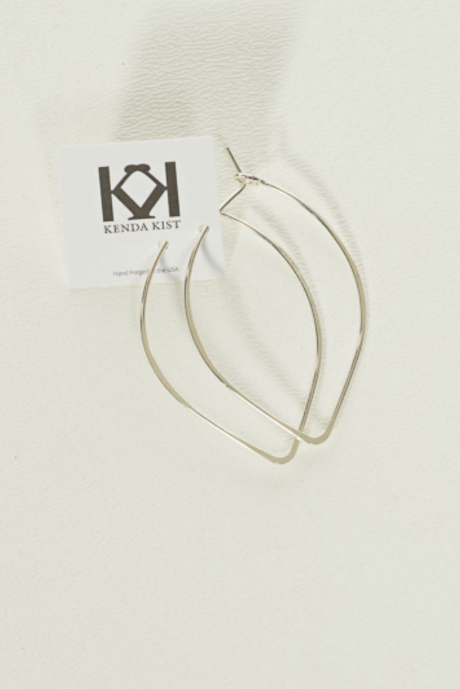 Kenda Kist Closed Wire Hoop Earring Large