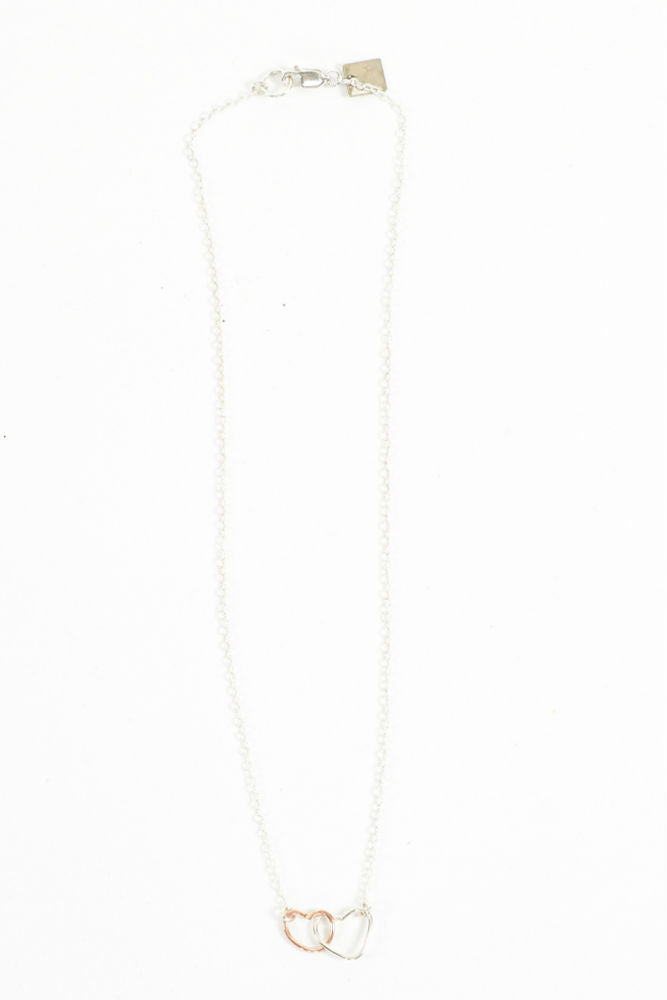 Kenda Kist Interlocking Heart Necklace