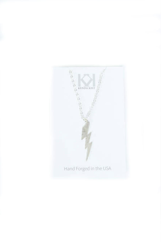 Kenda Kist Lightning Bolt Necklace
