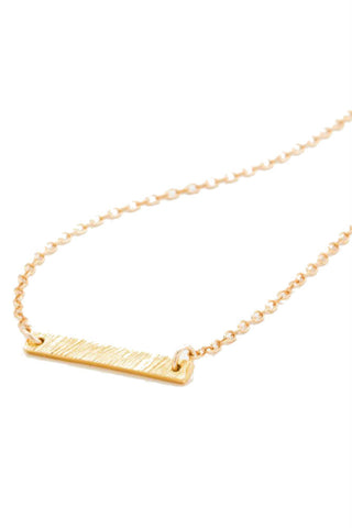 CHAN LUU Crystal Pave Short Necklace