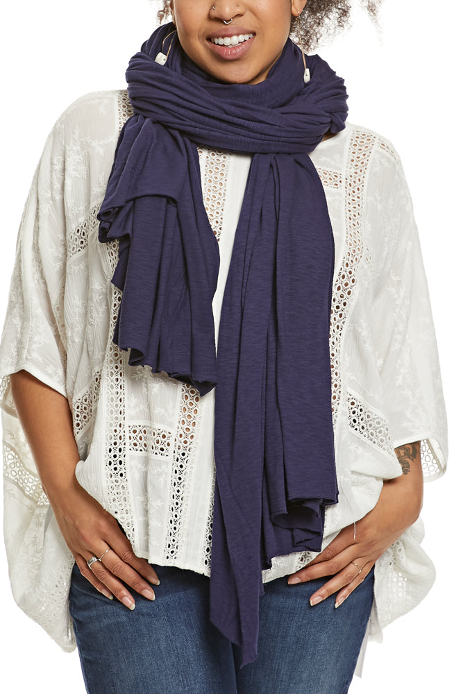 LA Made Zingo Scarf Slub Midnight