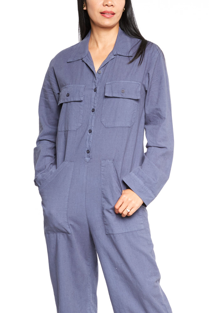 LACAUSA Charlie Jumpsuit in Midnight