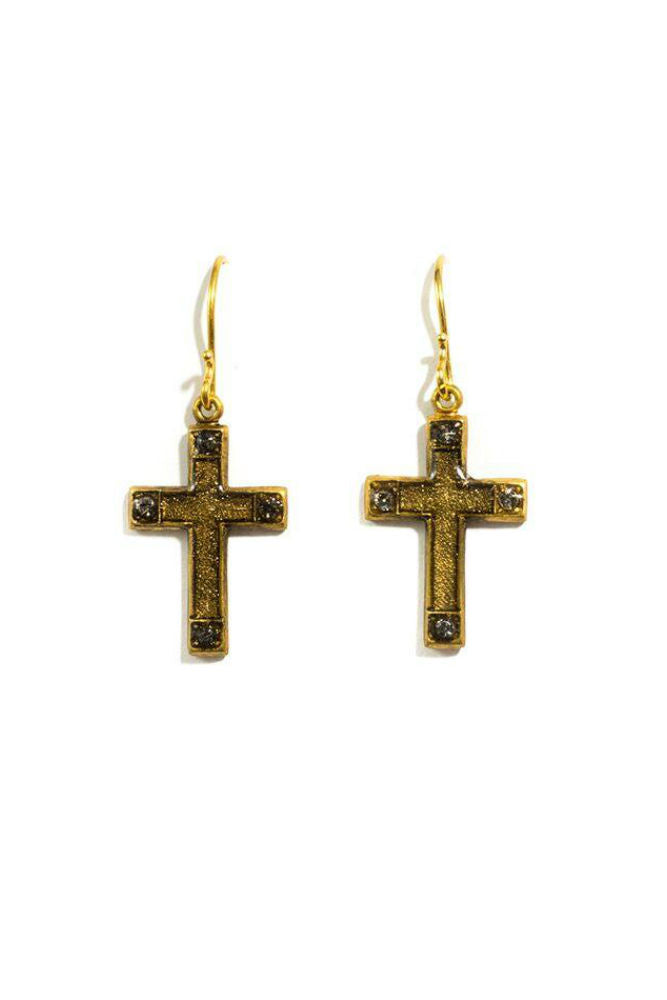 VSA Les Celestes Cross Earrings