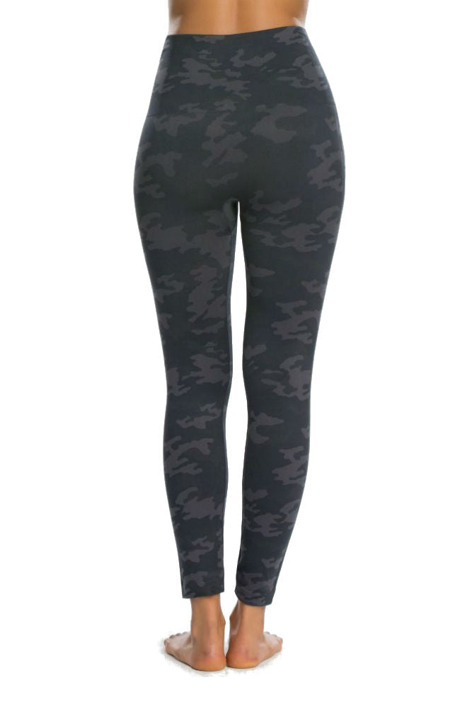 SPANX Look at Me Now Leggings in Black Camo