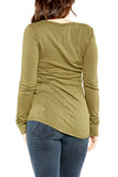 Bobi Sporty Scoopneck in Cargo