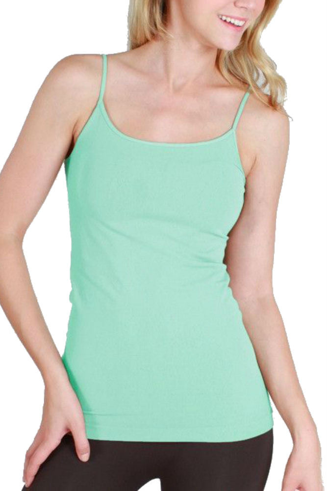 Niki Biki Long Camisole in Lucite Green