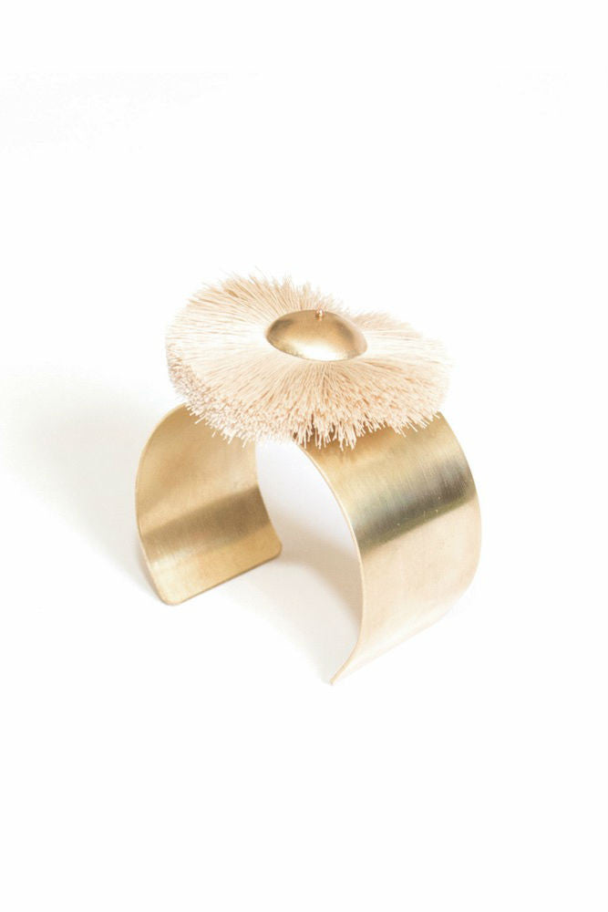 The Salt Empire Mawu Cuff in Natural