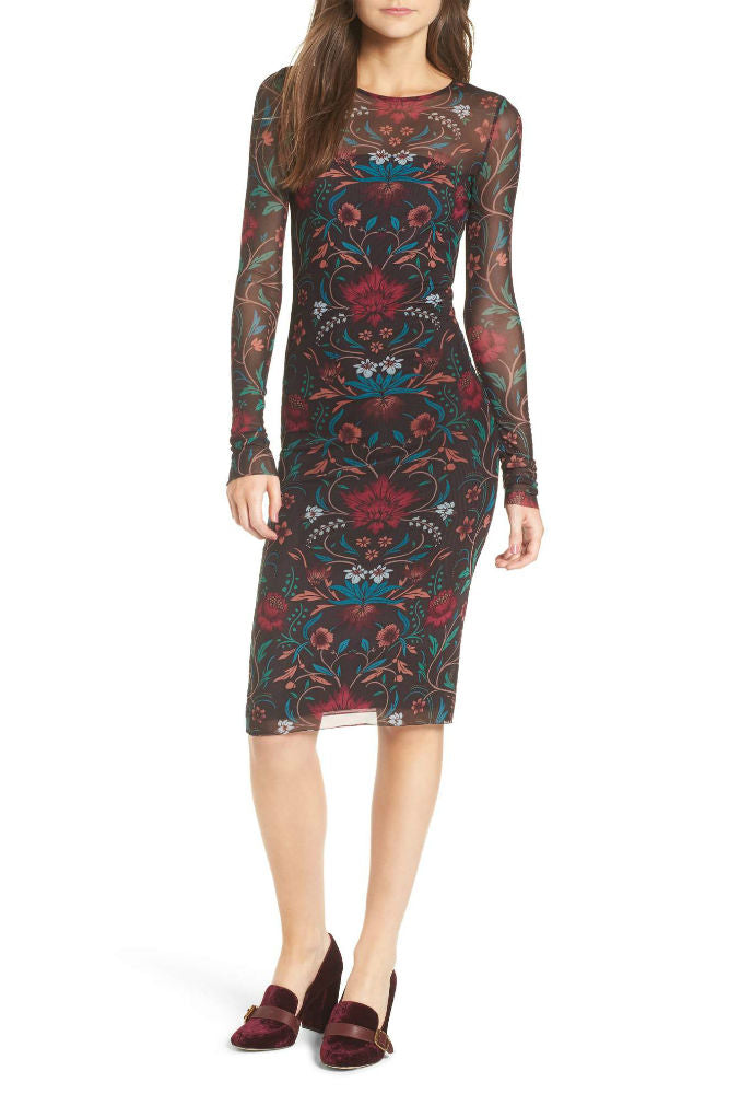 Stone Row Keep it Fly Dress in Black Combo