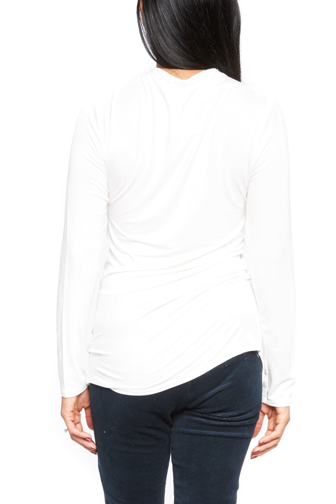 Mod Ref Light LS Top in Ivory