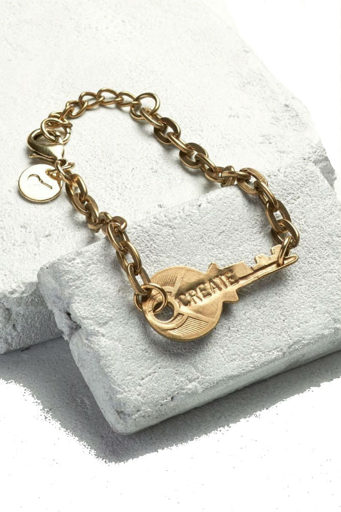 THE GIVING KEYS Never Ending Key Bracelet Create