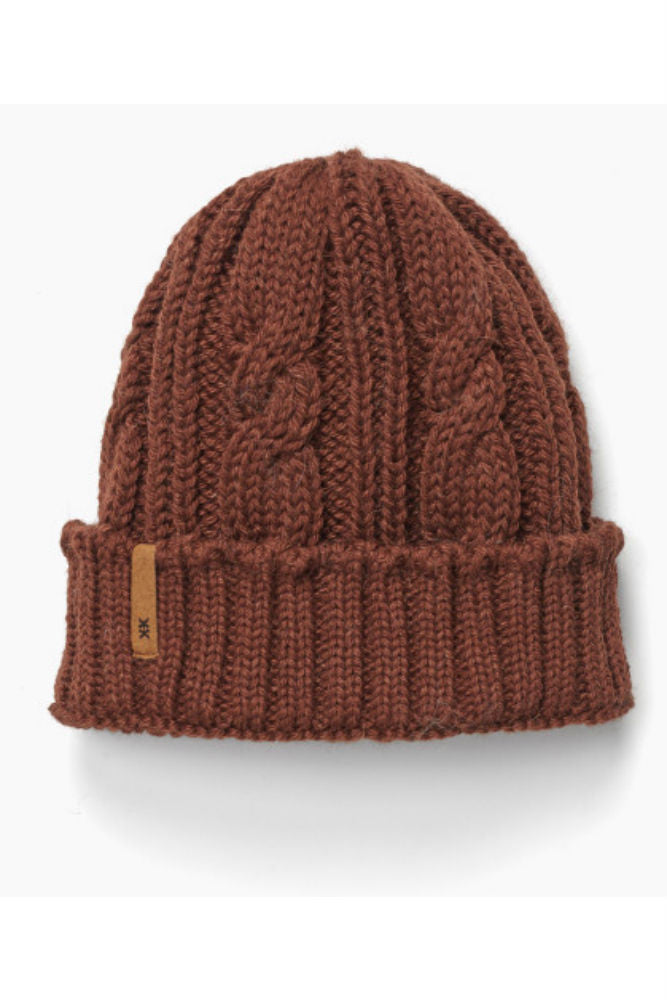 Krochet Kids Odin Beanie in Chestnut