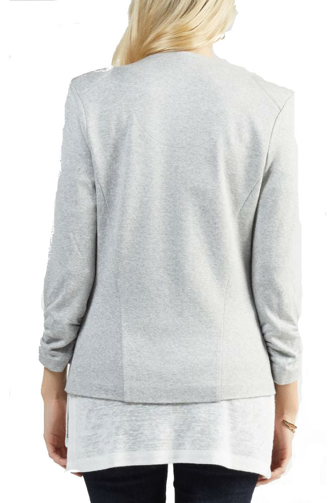 Tart Collections Olga Blazer in Heather Grey